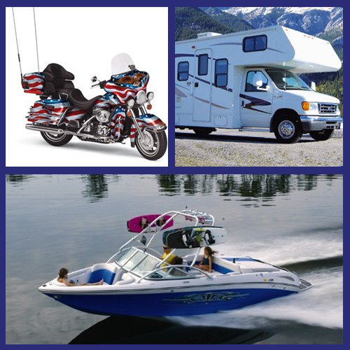 Motorcycle, Boat & RV Insurance